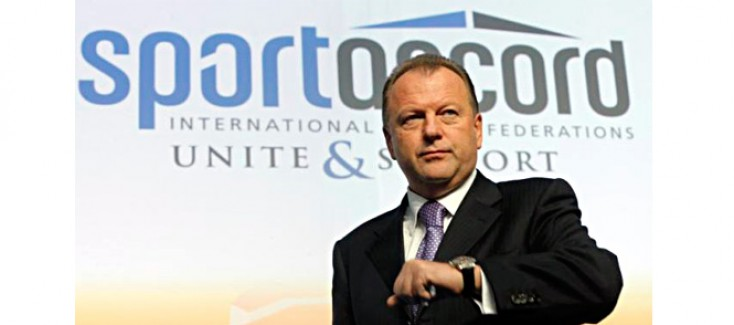 MARIUS VIZER RESIGNS AS PRESIDENT OF SPORTACCORD