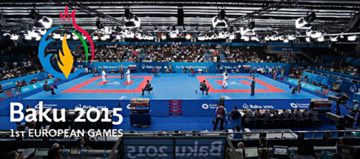 KARATE COMPETITION ON 1ST EUROPEAN GAMES IS CLOSED.