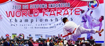 JAPAN FIRST NATION ON WORLD CADET, JUNIOR & U21 JAKARTA 2015