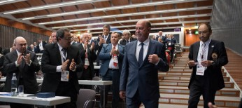Antonio Espinós re-elected as WKF President for six-year term
