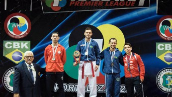 Brazilian Karatekas prevail in successful final day of Karate 1-Premier League in Fortaleza