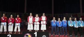 Japan top medal table at memorable Karate World Championships