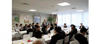 THE JAPANESE DIET MEMBERS SUPPORT KARATE FOR TOKYO 2020