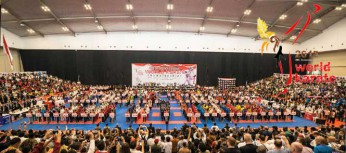 THE 9TH WORLD JUNIOR, CADET & UNDER 21 KARATE CHAMPIONSHIPS 2015 IS OPEN