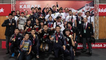 Japanese Karatekas top World University Karate Championship