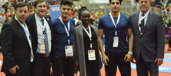 Lifetime dream come true for Refugee team at Karate World Championships
